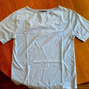 Acne M blue t shirt
